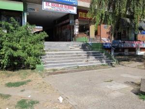 Stepenice u zgradi gde je Infostan (Narodnih heroja 30)