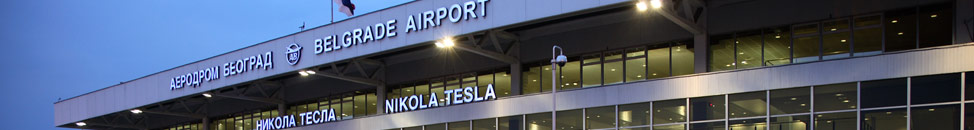 Aerodrom Nikola Tesla u Beogradu i taksi / autobuski prevoz