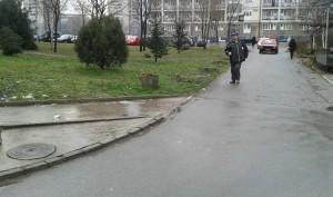 Predlog za pravljenje novog trotoara kod Studenjaka