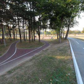 Trim staza na Ušću – precizne dužine segmenata