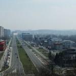 Novi Beograd sa Bežanijske kose