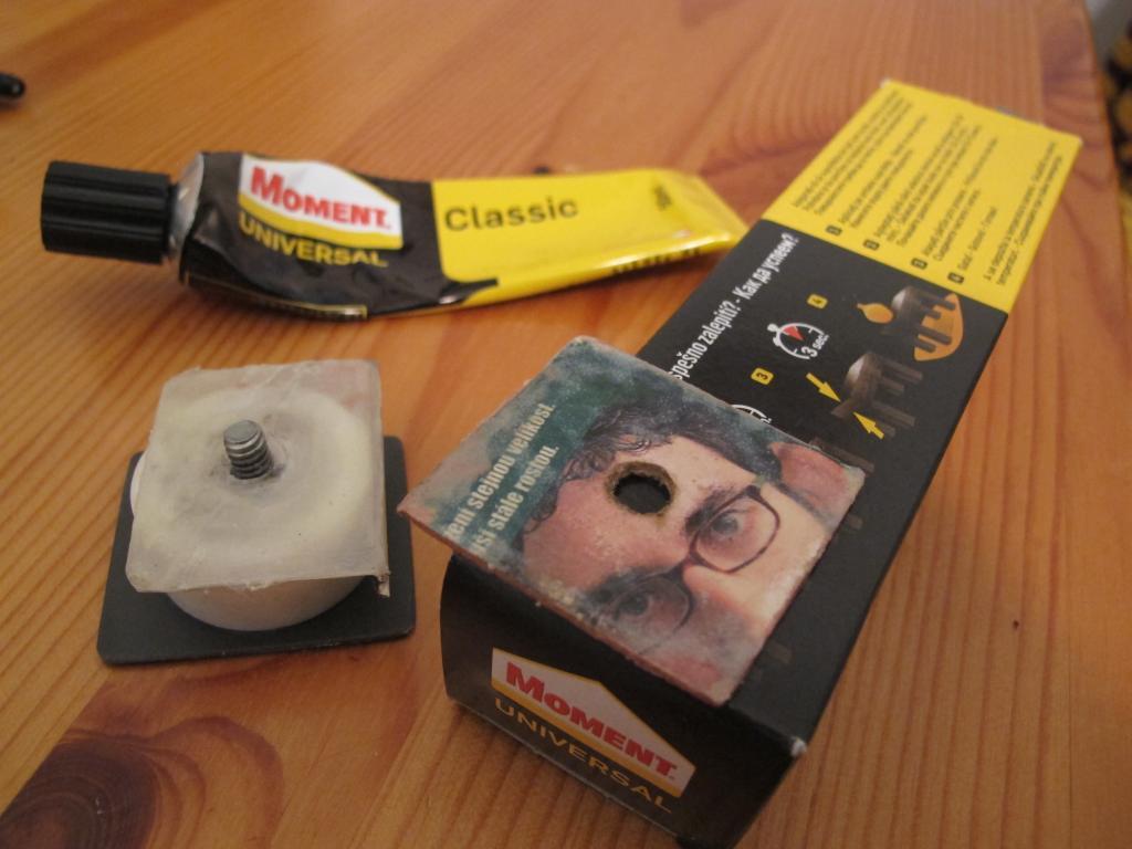 DIY (Uradi sam) Quick Release Plate za stativ (Camera Tripod)