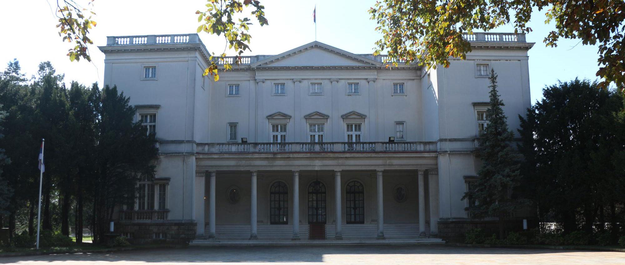 Dvorski kompleks na Dedinju – Beli dvor i Kraljevski dvor